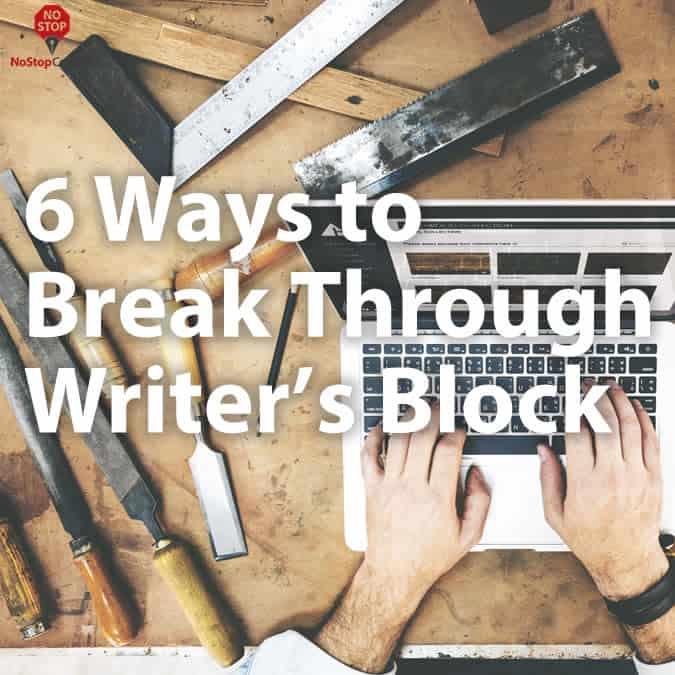 6-ways-to-break-through-writers-block