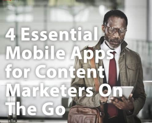 mobile apps for content marketing
