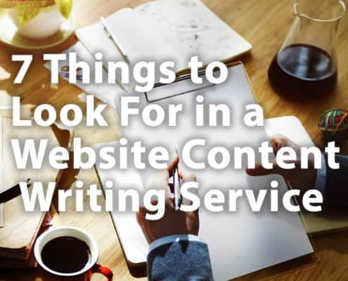 7 Things to Look For in a Website Content Writing Service