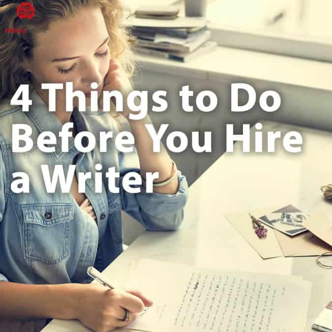 Hire a Writer