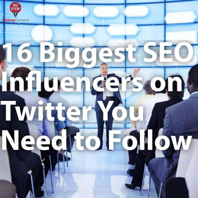 twitter inluencers