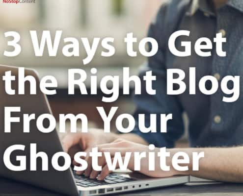 blog ghostwriters