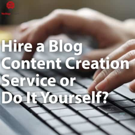 blog content creation service