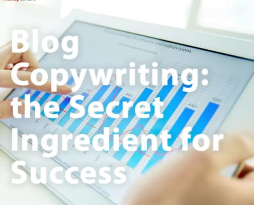 Blog Copywriting the Secret Ingredient for Success