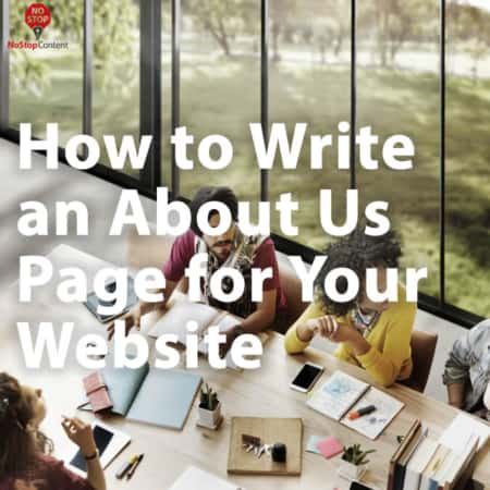 How to Write an About Page for your Website